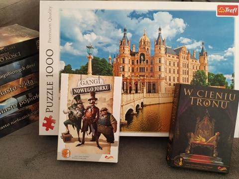 Skup gier i książek